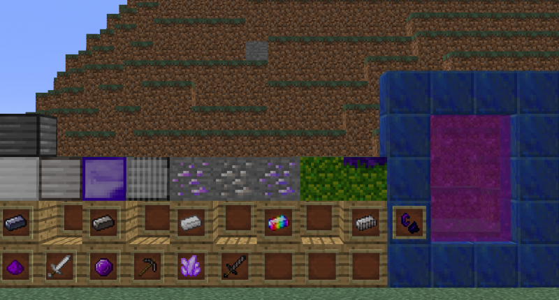 An overview image of the elements in the mod.