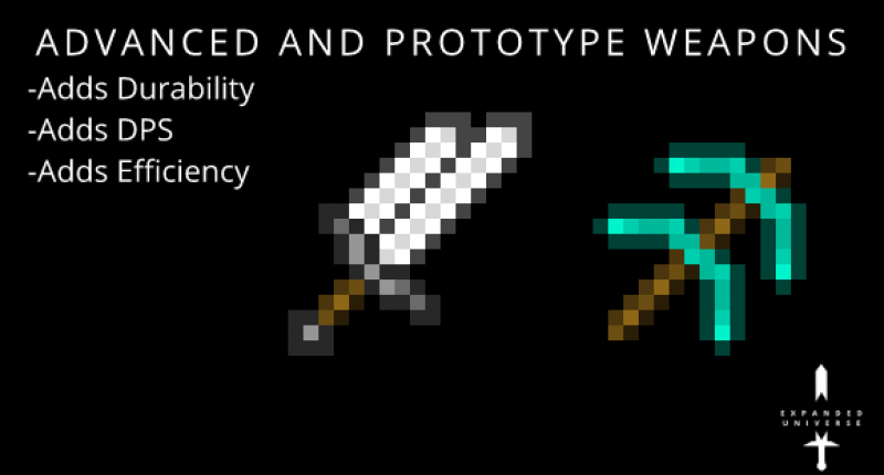 Upgrade Vanilla Weapons to Advanced and Prototype!