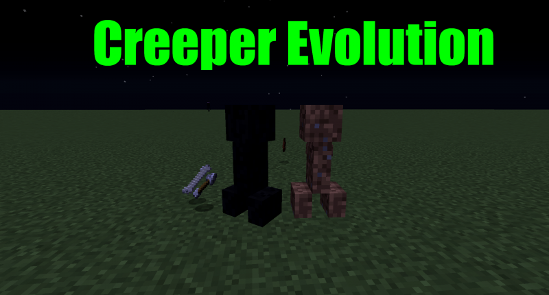 hello this is the Creeper evolution Mod