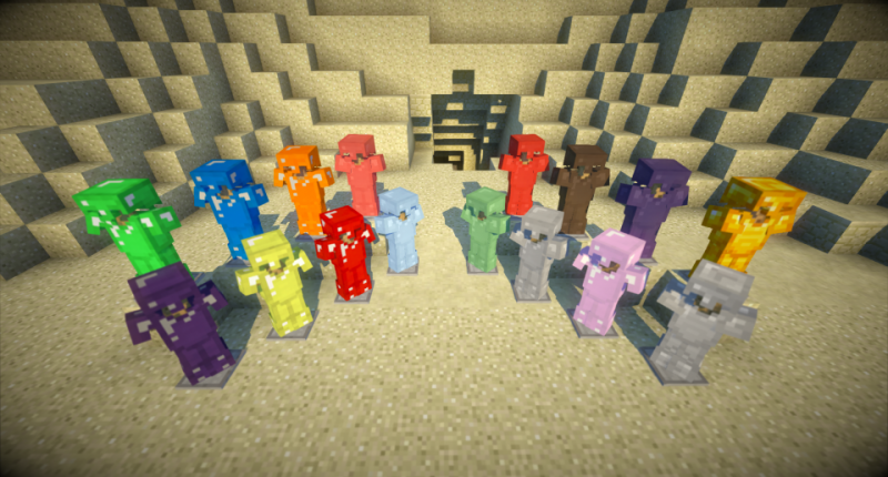 *Update* Introducing 16 new armors!