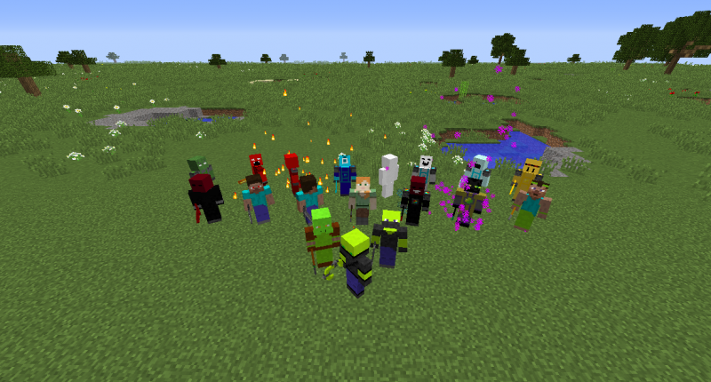 All mobs of the mod.