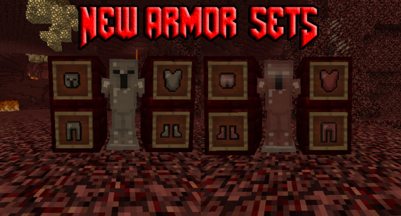 New Armor Sets