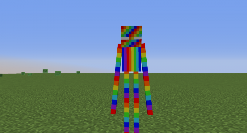 Rainbow Enderman