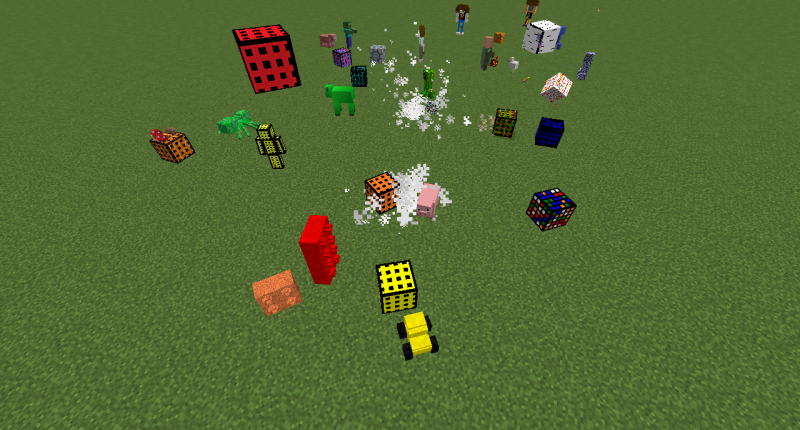 So many Mobs to kill!
