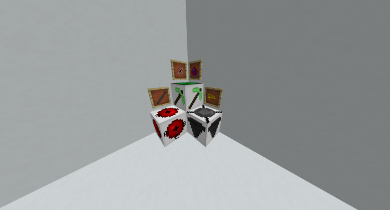 All blocks and items