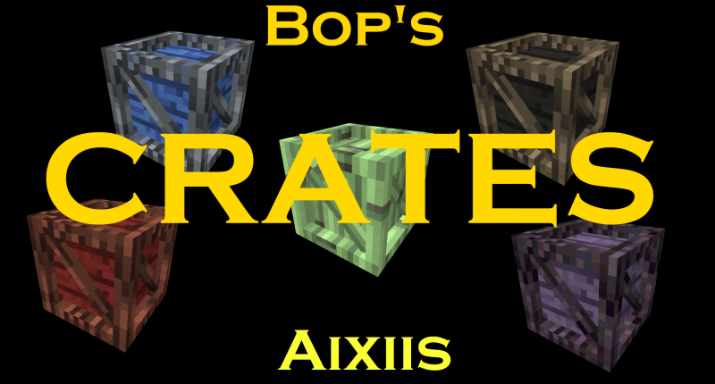 Logo with some of the crates