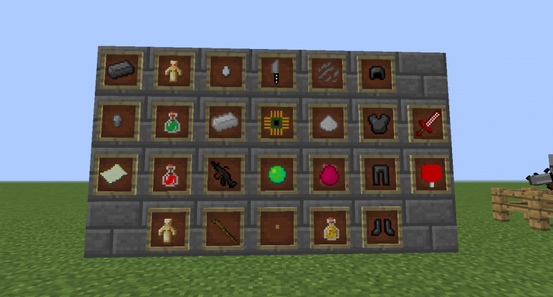 All items of the mods