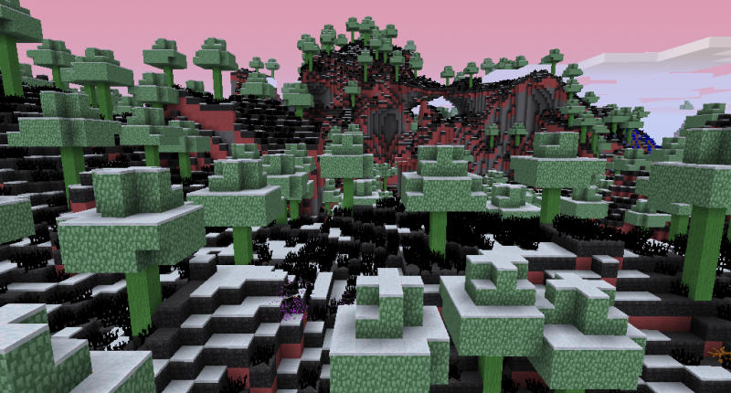 Necromant biome this is my first mod and in beta this biome isnt final