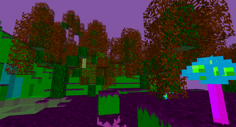 Updated flout forest.