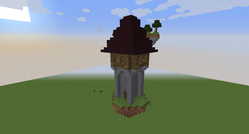 Wizard Tower one of the new Structures
