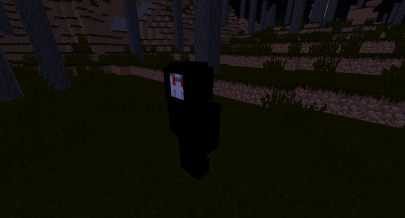 The Reaper a new mob who spawn in the new biome:Old Forest