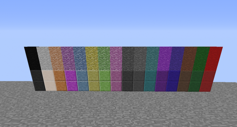 Colour andesite update!