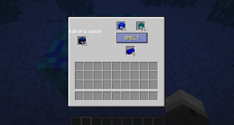 1 Crafting block
