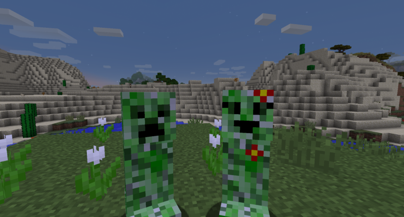 Male Creeper and Female Creeper