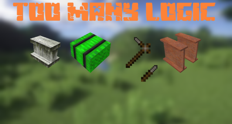 This mod adds new and useful recipes, blocks such as beams, mud, bundles of branches and even the leaves of trees in the oven can be used as fuel