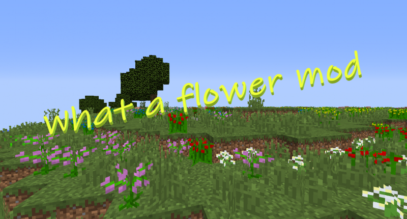 What a flower mod!