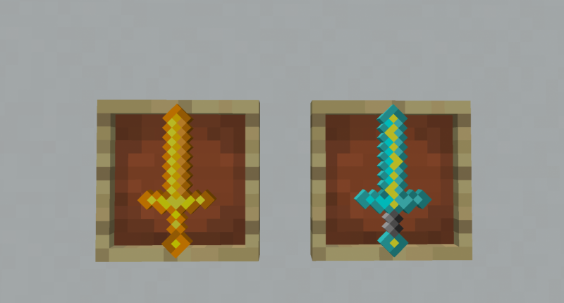 Heres The Blaze Sword and Lightning Sword