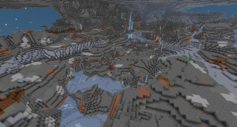 The brand new dimension that is like a giant cave with thousands of structures!