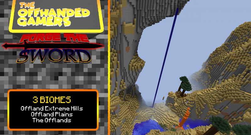 3 Biomes! The Offlands/Offland Extreme Hills/Offland Plains