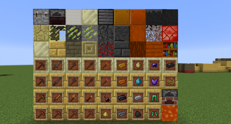Items/Blocks in 1.1