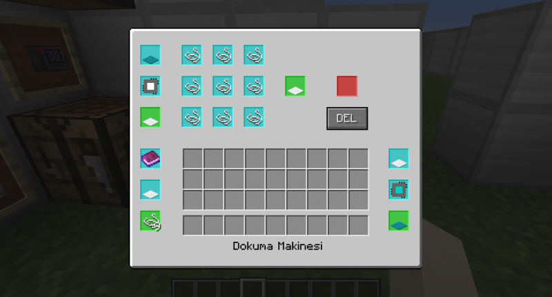 wool machine interface
