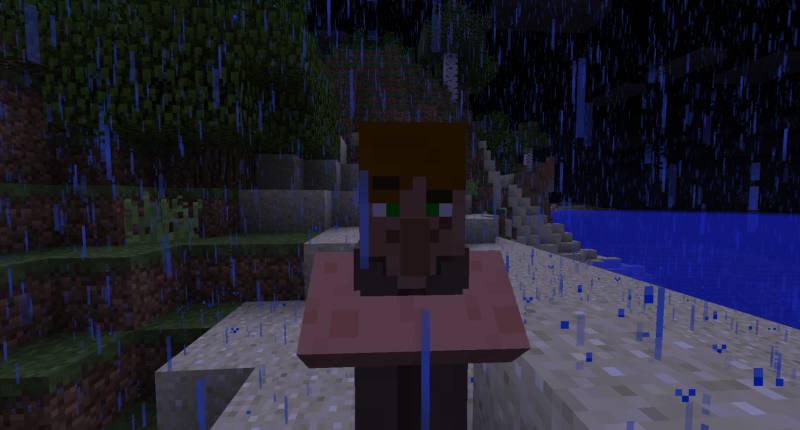 Female Villager stranded in a island