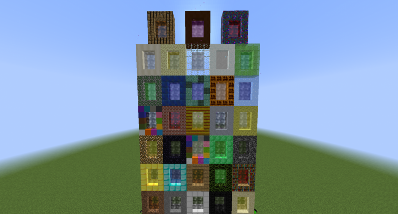 This is a picture of all of the portals in the mod