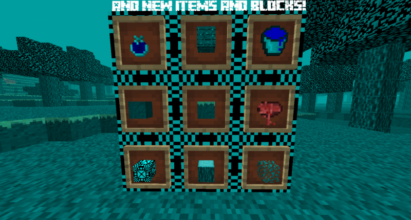 and New Items and Blocks! (More coming soon)