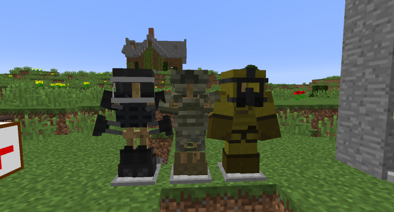 3 new types of armor!