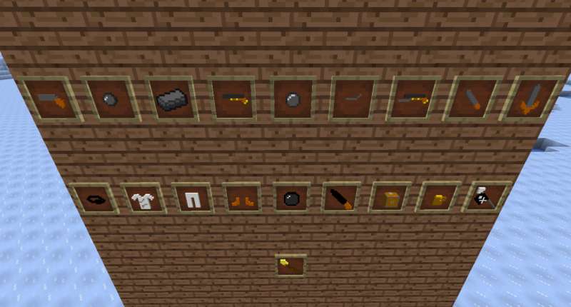 Items and new biome, Antartic