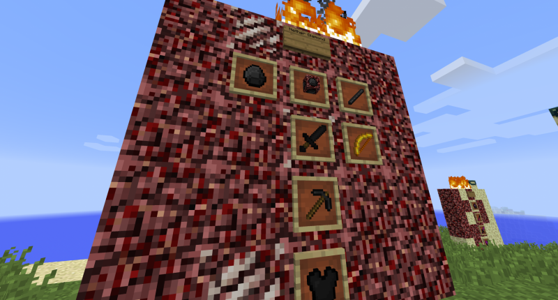 The new ore that spawns in the nether