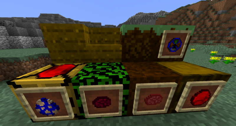 All blocks and item in mod.