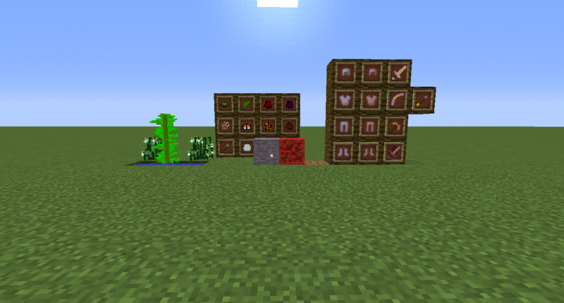 Some stuff in Overworld