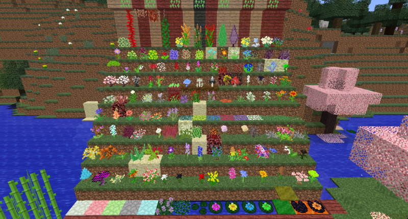 All of the plants (excluding trees) as of ver. 2.2.0