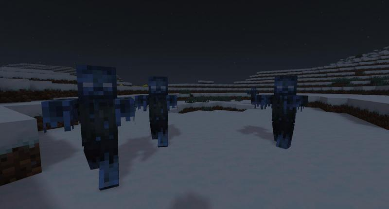 Frozen zombies?