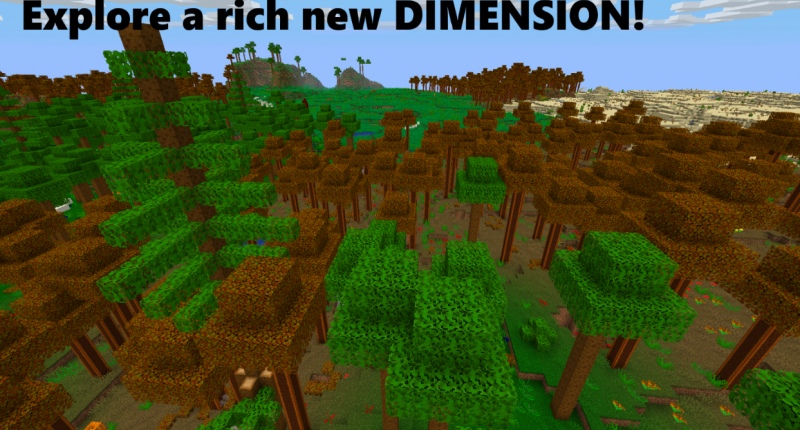 Explore a rich new dimension!