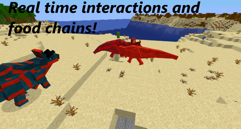 Real time interactions and food chains!