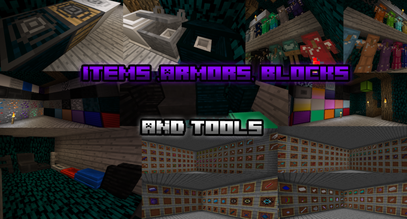 New Items,Armor,Tools,Ect