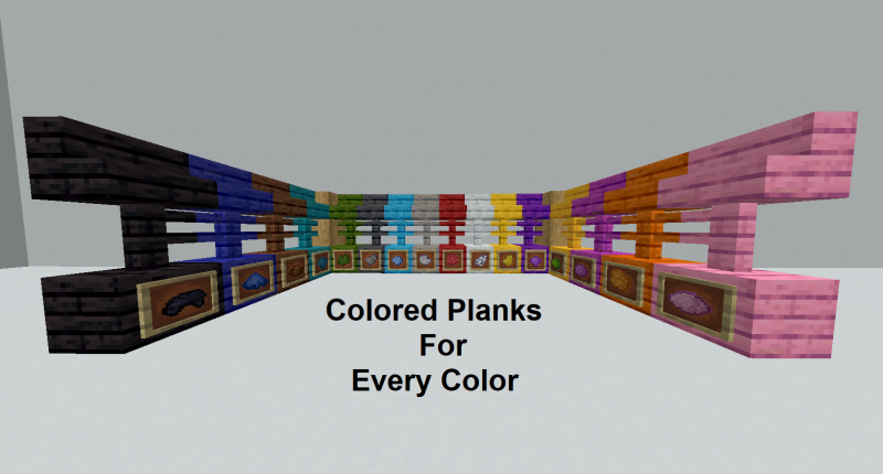 Colored Planks For Every Color