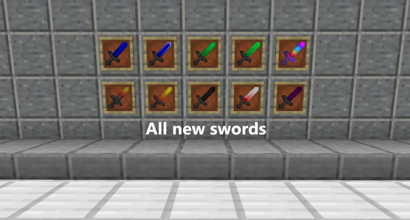 This are the swords