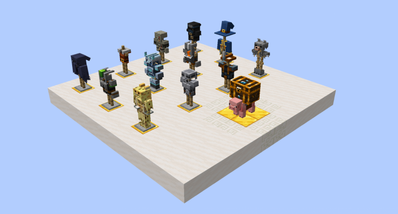 All of the armors in the mod [for now ;-)]!