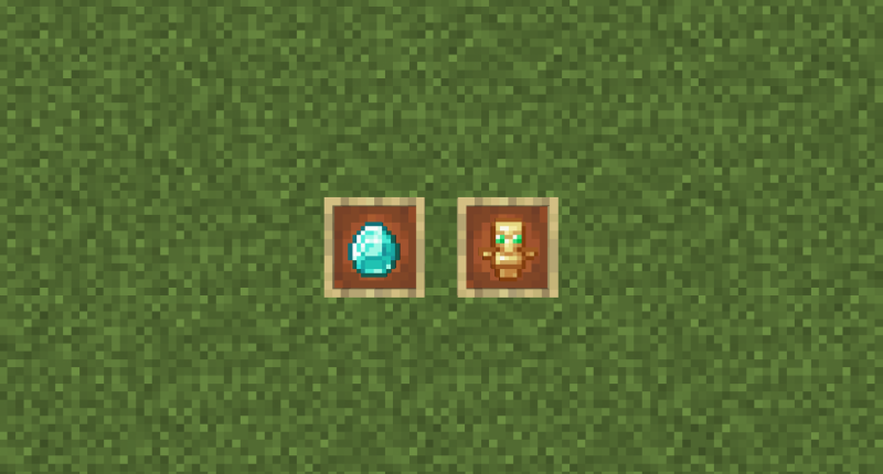 Fake Diamond and Useless Totem!