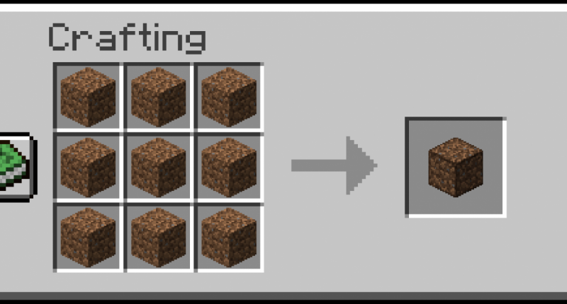 Slightly Compact Dirt Recipe