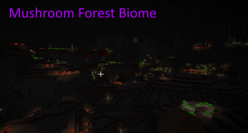 MushroomForest Biome