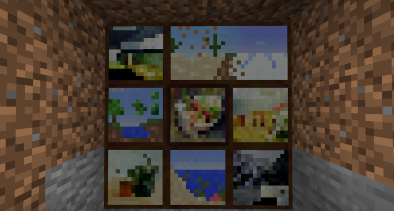 Paintings (mod and vanilla)