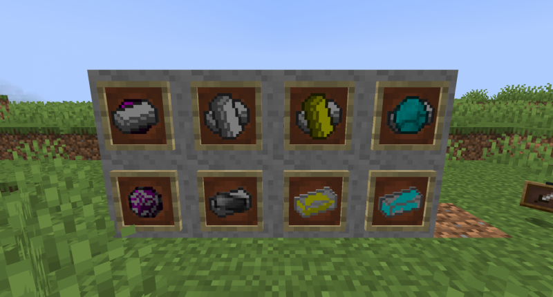 Cool new crafting materials