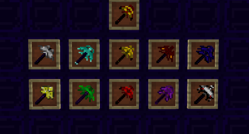 Reinforced Pickaxes