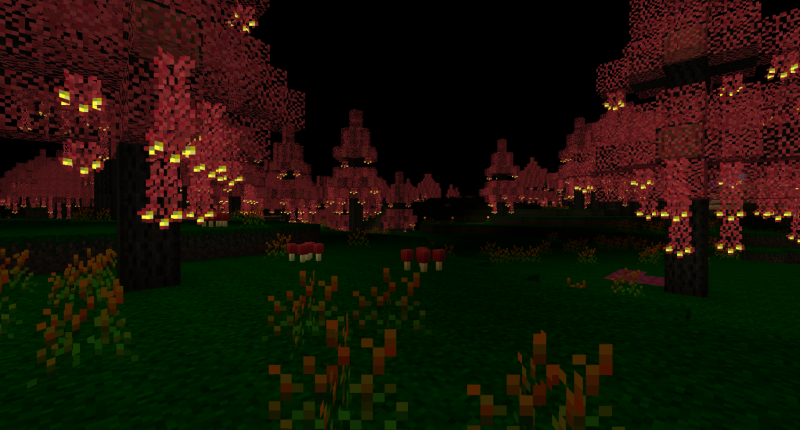 Crimson Forest Biome