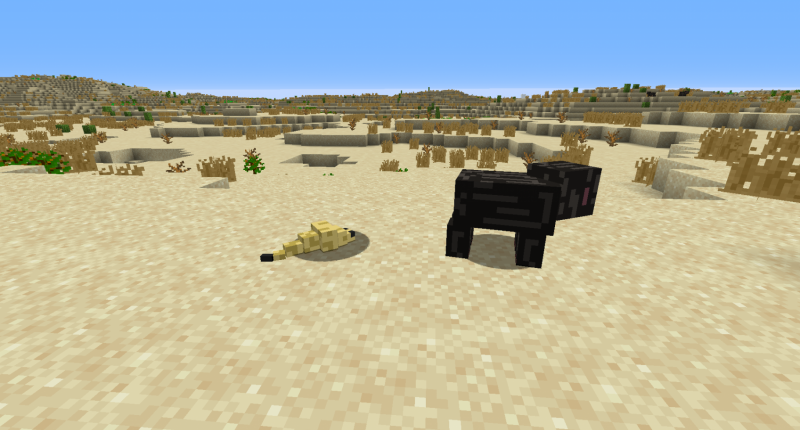 the two mobs i have added