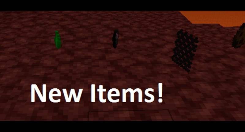 Some of the new items.